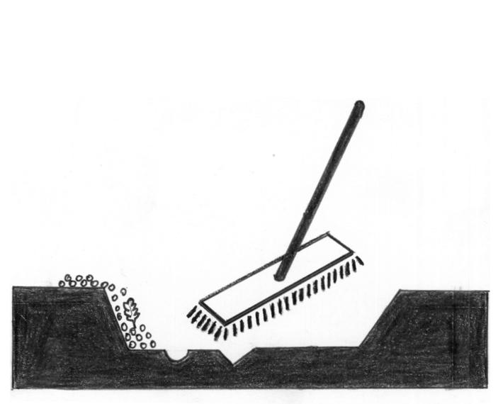 Dokładne czyszczenie ubytku